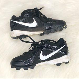 Nike Black Cleats
